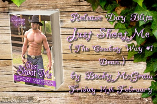 Just Shoot Me release day blitz