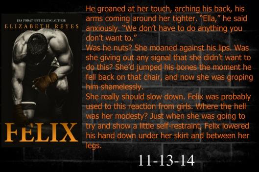 Felix Teaser #15 - Ginger Ring