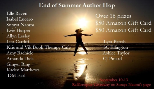 End of Summer Author Hop 2015